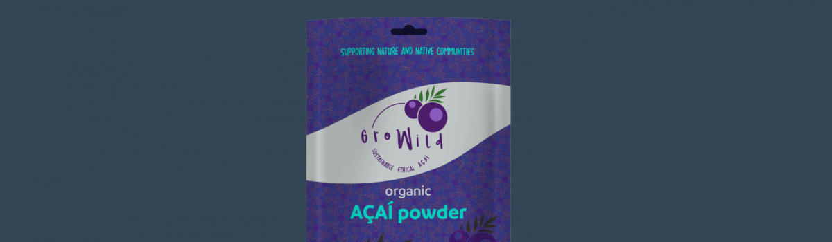 Gro Wild packaging design