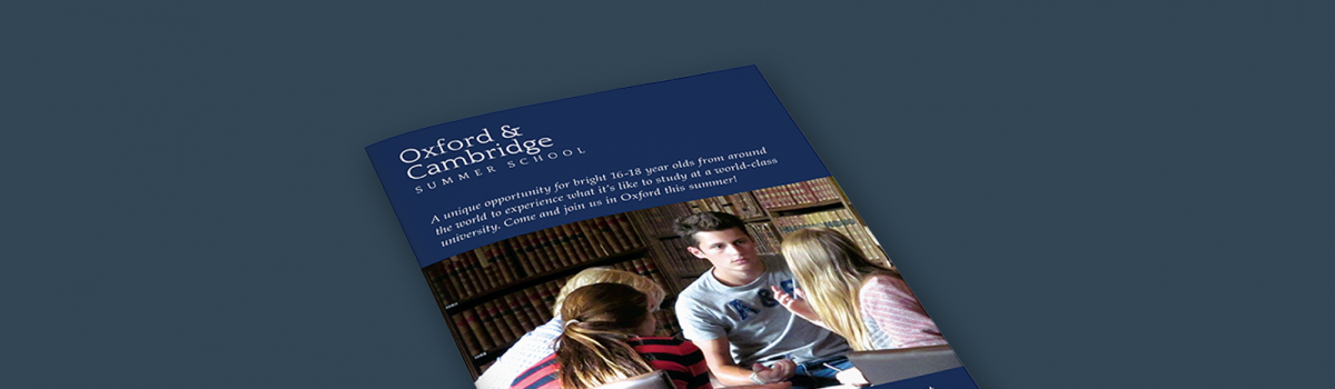 Oxford & Cambs Summer School Prospectus