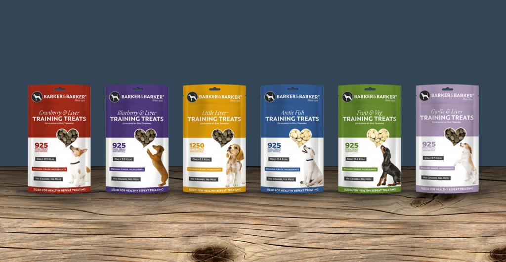 Dog Training Treats Packaging