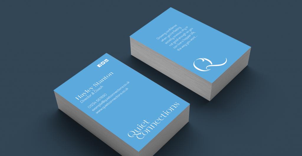 Quiet Business Cards
